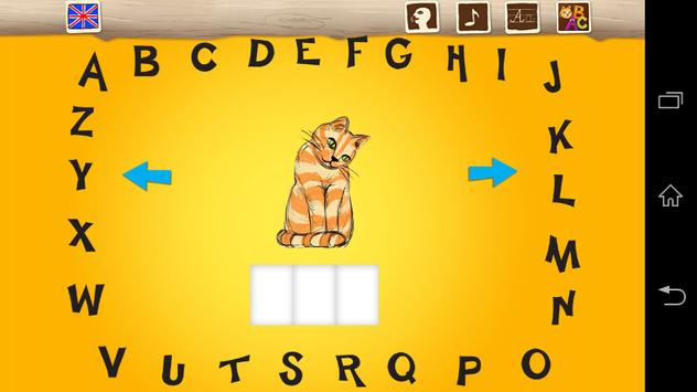 My First ABC Word Games En-Fr screenshot 4