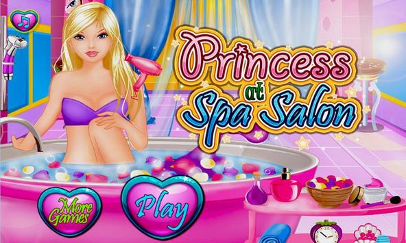 Games for Girls Spa Salon poster