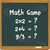 Math basic skills game icon
