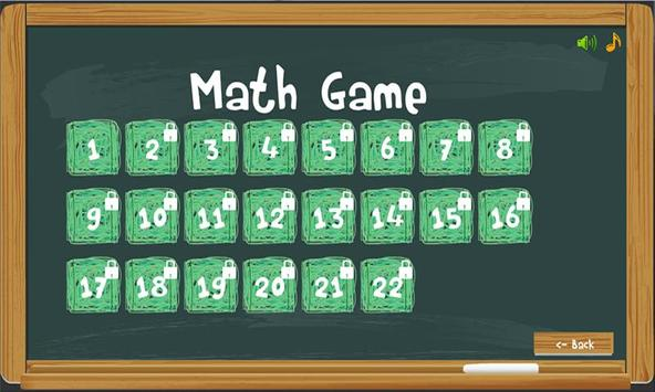 Math basic skills game apk screenshot