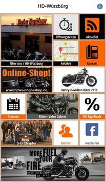 Harley Davidson Würzburg poster