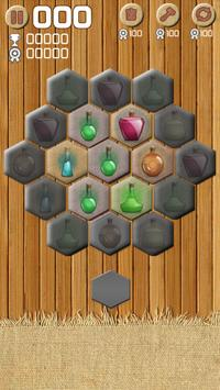 Merge Crush Hexa Block! Puzzle screenshot 3