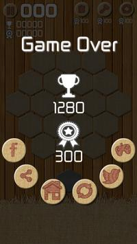 Merge Crush Hexa Block! Puzzle screenshot 12