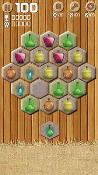 Merge Crush Hexa Block! Puzzle screenshot 9
