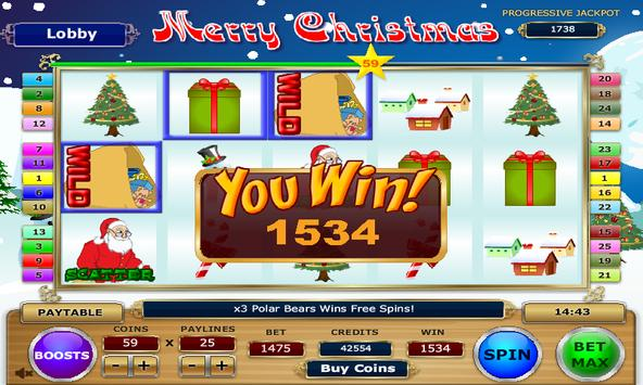 Merry Christmas Slots screenshot 4