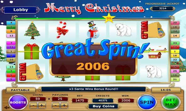 Merry Christmas Slots screenshot 9