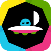 Dot Panic! Fun color switching icon