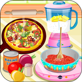 Yummy Pizza, Cooking Game icon