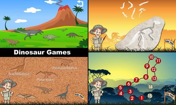 dinosaur park math lite apk screenshot