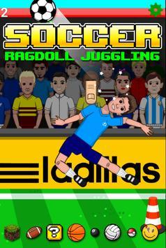 Soccer Ragdoll Juggling poster