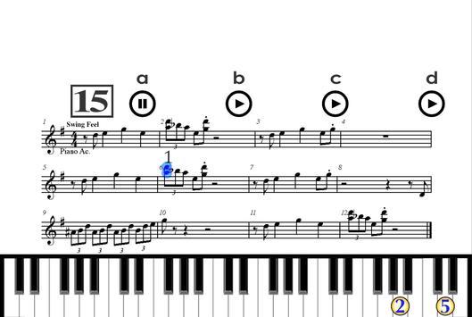 Как играть на пианино apk screenshot