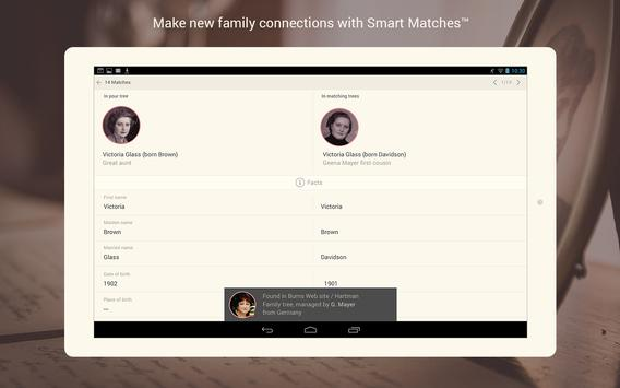MyHeritage - Family tree, DNA & ancestry search apk screenshot