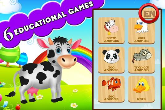 Farm Animals For Toddler poster