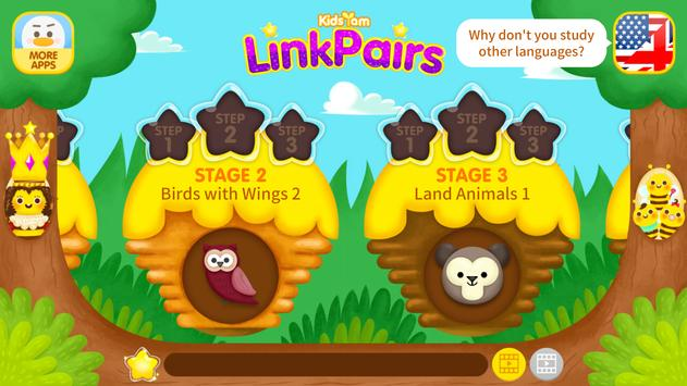KidsYam's LinkPairs Word Learn screenshot 5