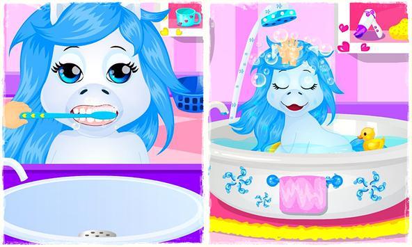 Baby Pony Morning Care apk screenshot