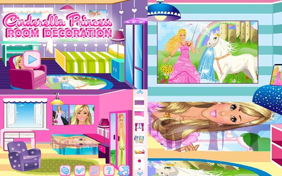 Cinderella Princess Room apk screenshot