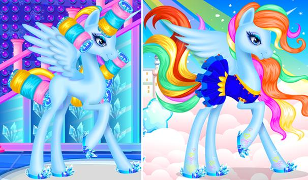 Ice Unicorn Princess Salon screenshot 14