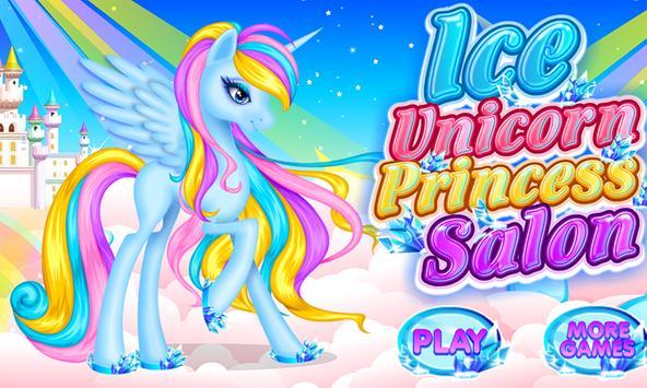 Ice Unicorn Princess Salon screenshot 15