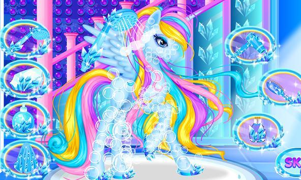 Ice Unicorn Princess Salon screenshot 16