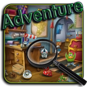 Adventure. Hidden objects icon