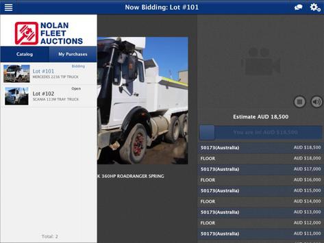 Nolan Fleet Auctions apk screenshot