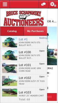 Bruce Schapansky Auctioneers apk screenshot