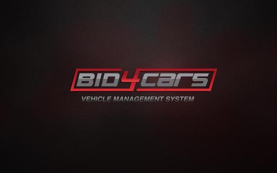 Bid4Cars VMS poster