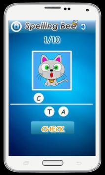 Spelling Bee Games for Kids screenshot 1