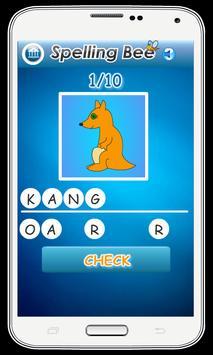 Spelling Bee Games for Kids screenshot 2