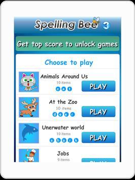 Spelling Bee Games for Kids screenshot 5