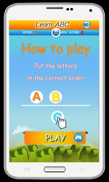 ABC for Kids - Play and Learn screenshot 4