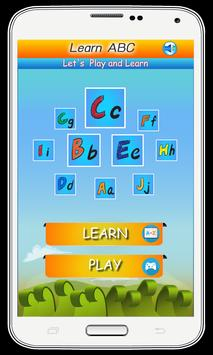 ABC for Kids - Play and Learn poster