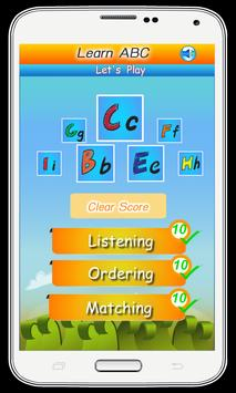 ABC for Kids - Play and Learn screenshot 1