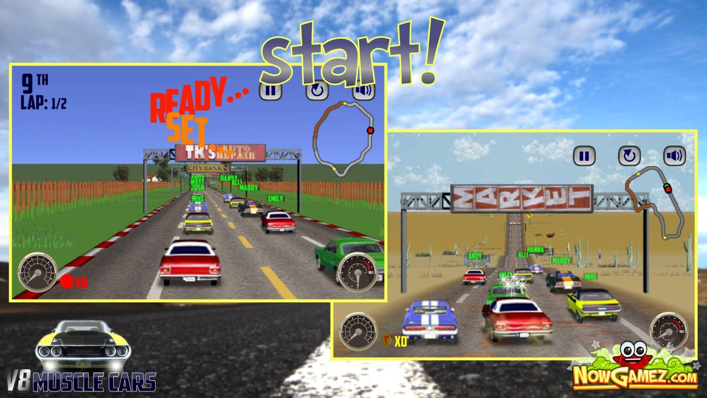 v8 muscle cars for android - apk download