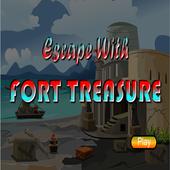Escape With Fort Treasure icon