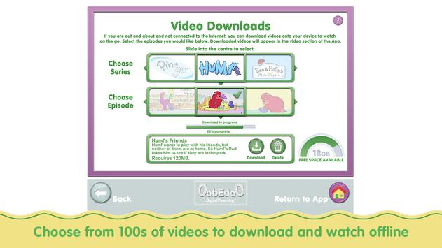 OobEdoO: WatchTV, Play & Learn screenshot 14