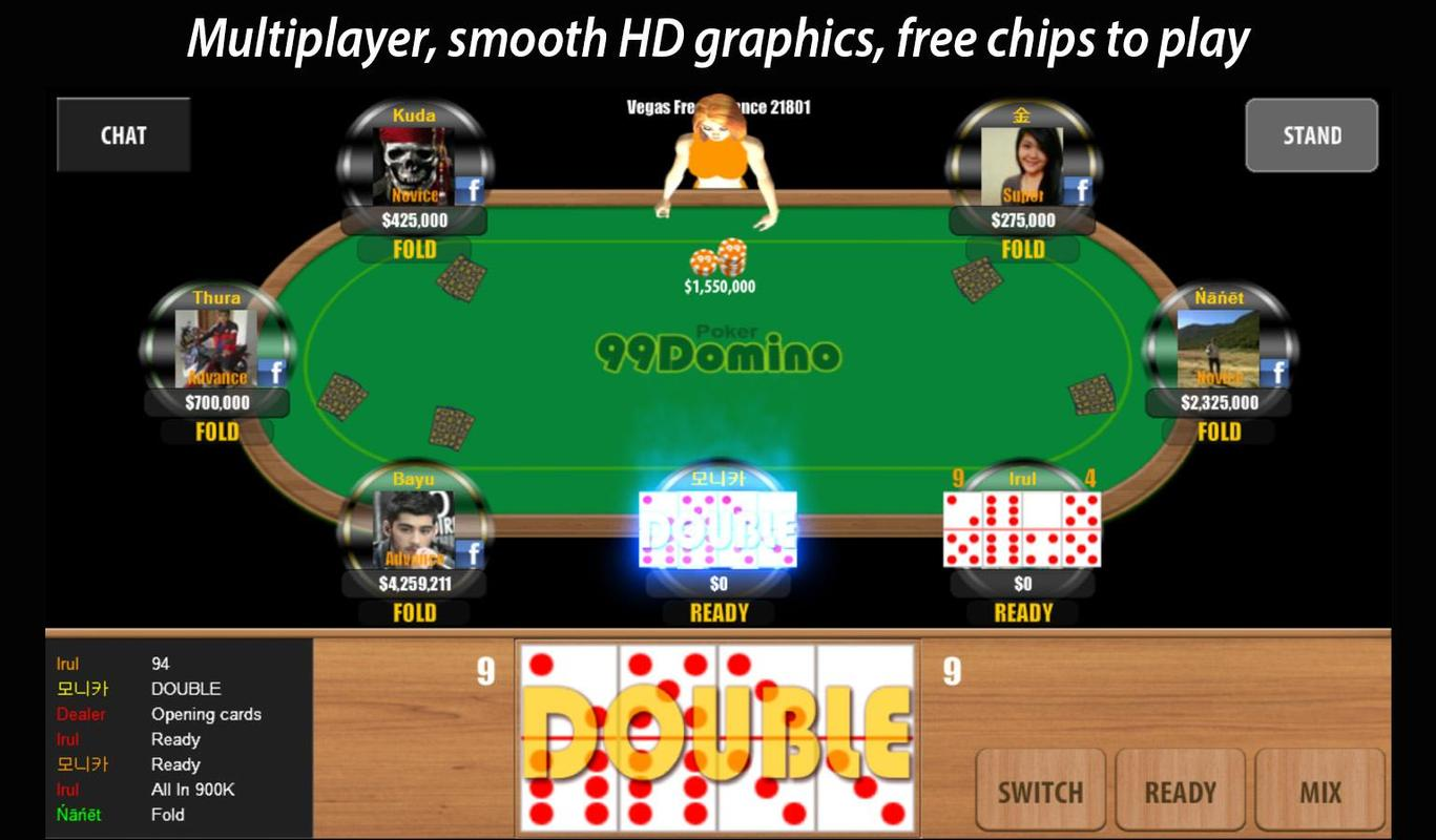 99 Domino Poker APK Download - Free Casino GAME for