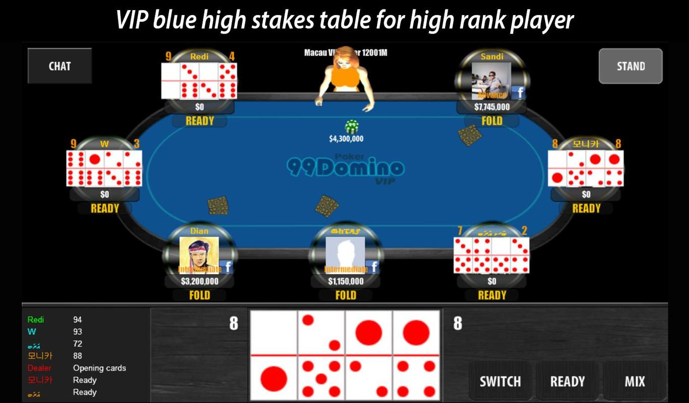 99 Domino Poker for Android - APK Download