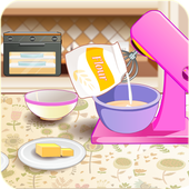 Cooking in kitchen - Bake Cake Cooking Games icon