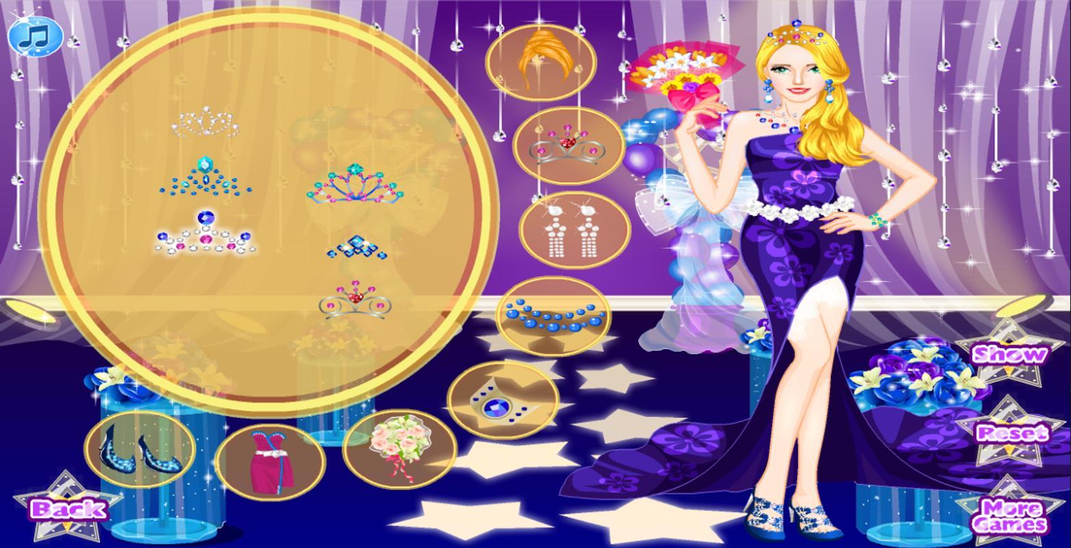 Hermosa Boda De La Princesa Juegos De Vestir Ideas Ornamento ...