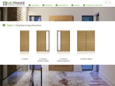 Portes d'entrée MC France apk screenshot