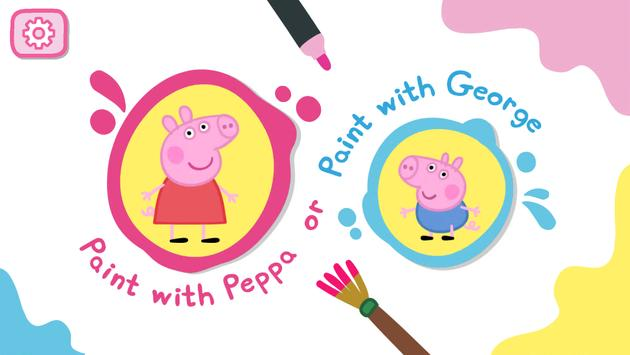 Peppa Pig: Paintbox poster