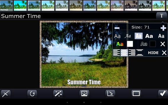 Photon. Mobile photoeditor screenshot 2