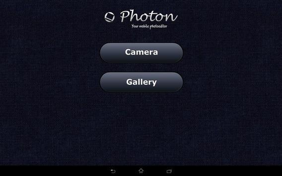 Photon. Mobile photoeditor apk screenshot