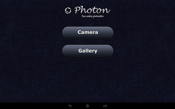 Photon. Mobile photoeditor screenshot 3