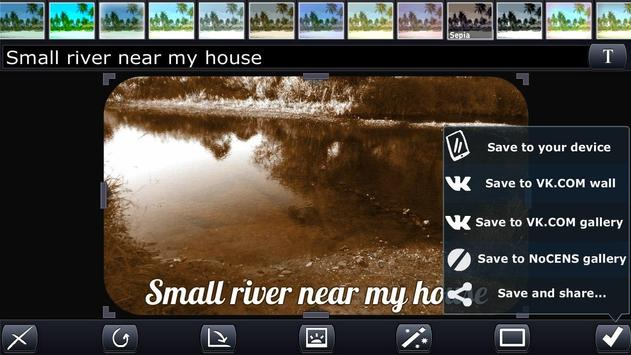 Photon. Mobile photoeditor screenshot 5