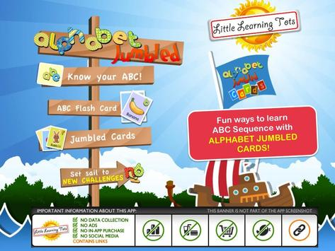 Alphabet Cards for Kids poster