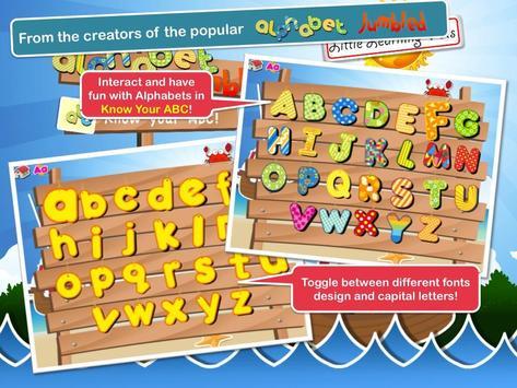 Alphabet Cards for Kids screenshot 2