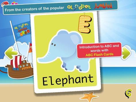 Alphabet Cards for Kids screenshot 4