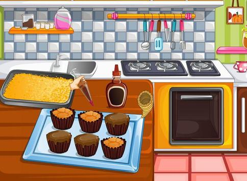 Cooking games and confectioery apk screenshot